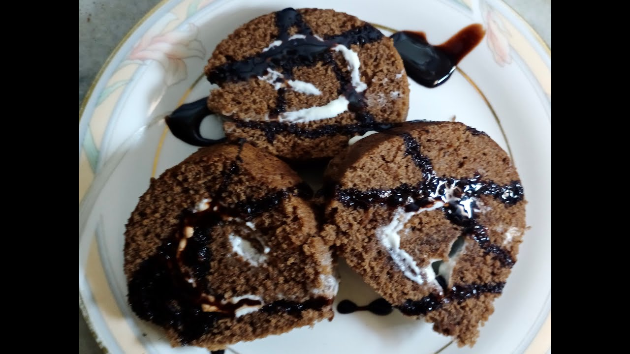 Home made Chocolate Swiss Roll ^_^|| Dessert recipe #easy ...