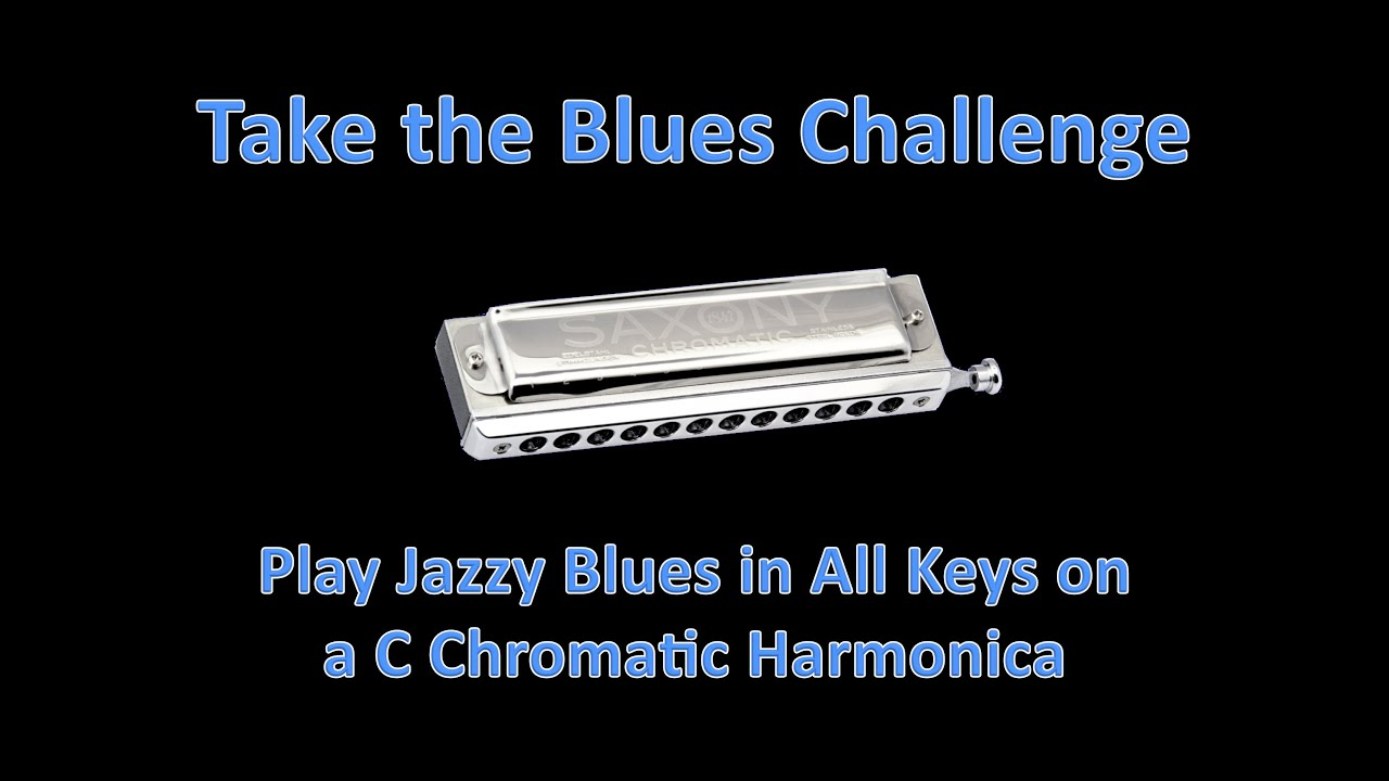 Learn to Play Jazzy Blues Harmonica in All Keys