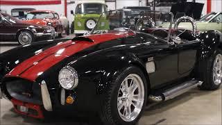 1966 Shelby Cobra black red