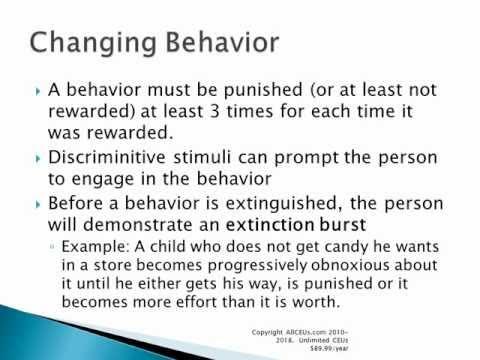 behavior modification  behavior modification