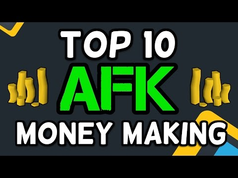 Top 10 AFK Money Making Methods - Runescape 2017