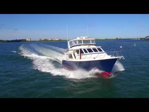 54 Offshore 2001 Blue Blazer   Sarasota Florida   Yacht for Sale HD 1