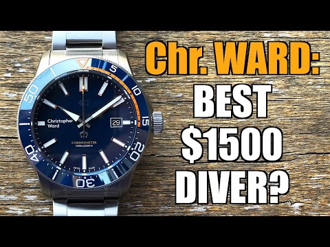 Christopher Ward Trident C60 Elite 1000 Automatic Dive Watch Review - Perth WAtch #331