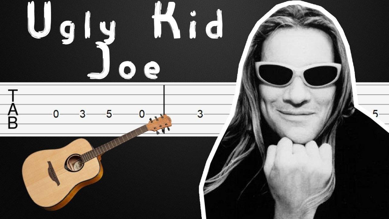 Cats In The Cradle Ugly Kid Joe Guitar Tabs Guitar Tutorial