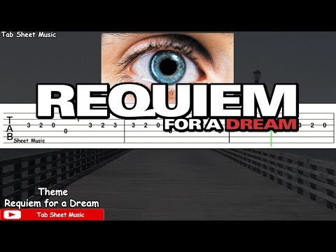 Requiem for a Dream - Theme Guitar Tutorial