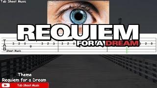 Requiem for a Dream - Theme Guitar Tutorial