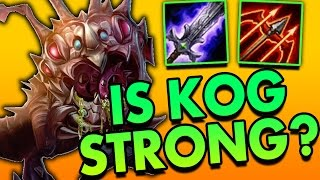 BUFFED KOG'MAW ADC IS IT STRONG AGAIN? - League of Legends Commentary