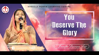 You deserve the Glory | Multilingual Version | Jennifer Dawson Asir | Worship Song