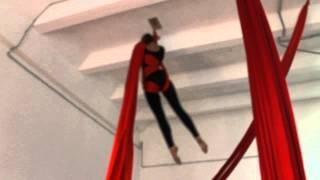 artarea project Занятие по воздушной гимнастике на полотнах Обрыв