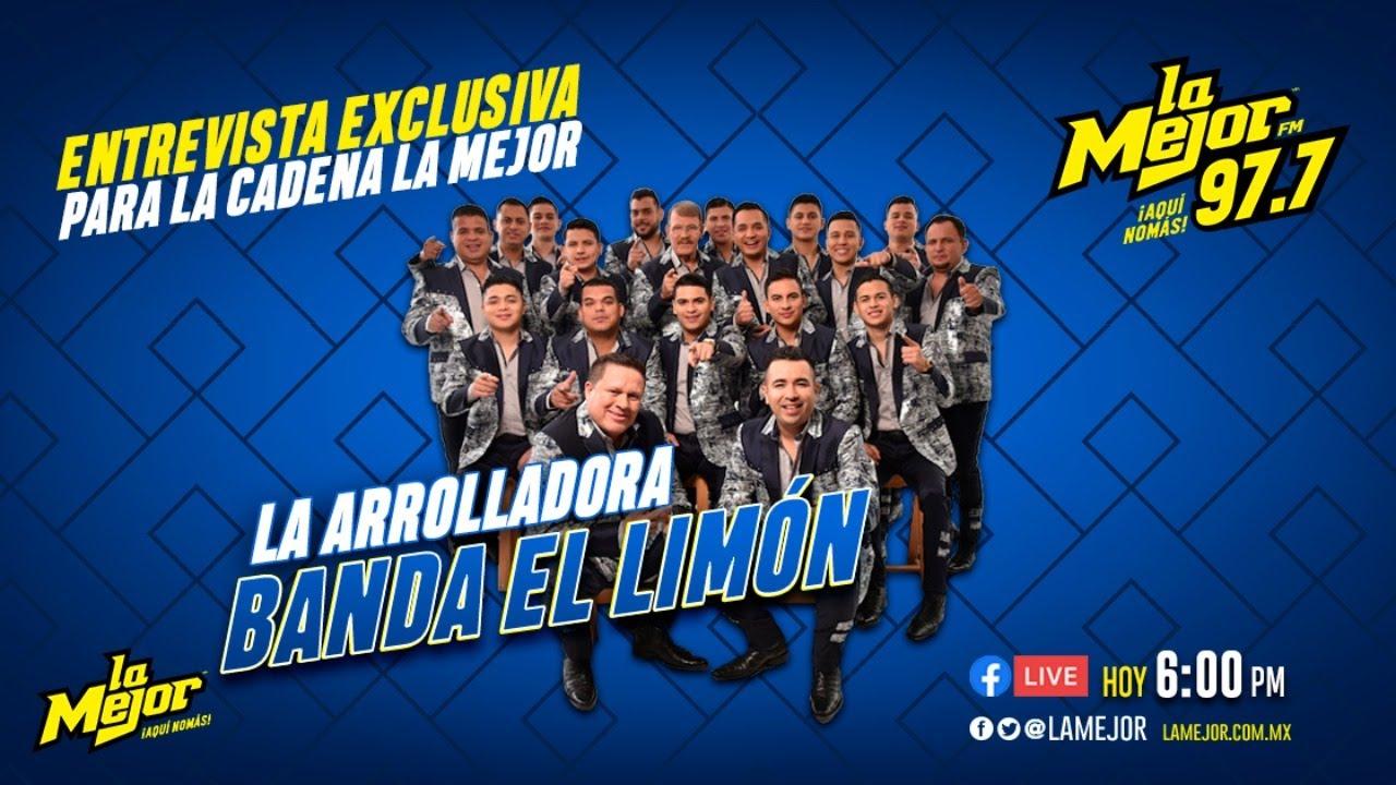 La Arrolladora Banda El Limón en entrevista con Andrés Salazar El Topo