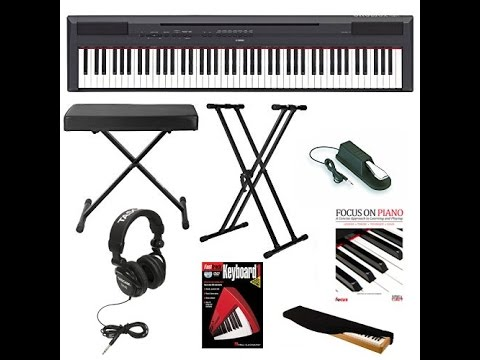 yamaha p 115b 88 key graded hammer standard ghs digital. Black Bedroom Furniture Sets. Home Design Ideas