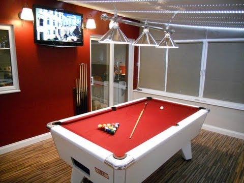 My Pool Table Room