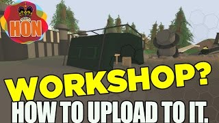 Unturned 3.0 ► How To Upload Maps To Steam Workshop  ➜  Maps & Mods