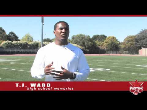 T.J. Ward tells ProTips4U about the lessons he learned in high school