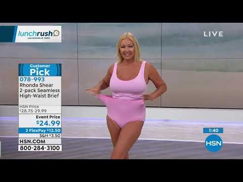 Rhonda Shear 2pack Seamless HighWaist Panty. http://bit.ly/2FRvjJg