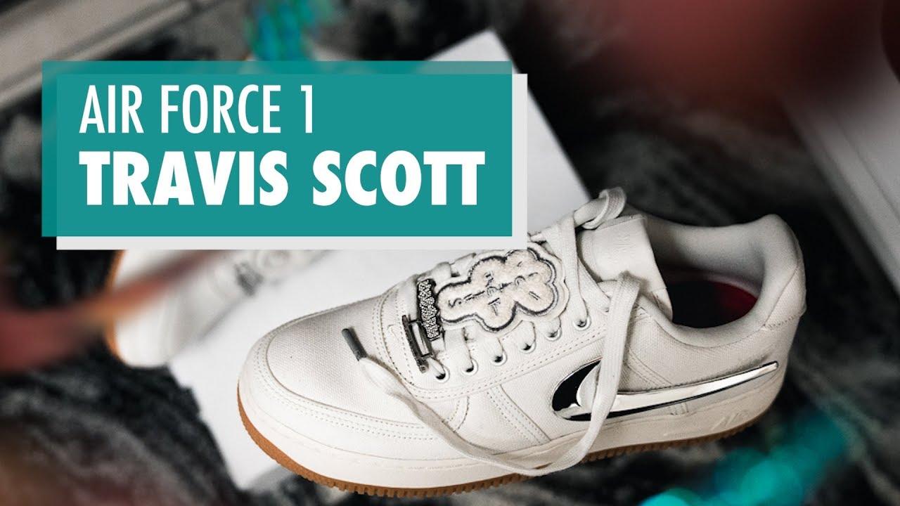 edea14277678 Styling the Travis Scott Air Force 1 s