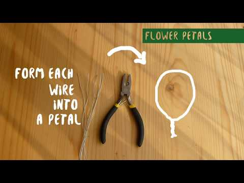 How To Make DIY Plastic Flowers (using plastic bags)