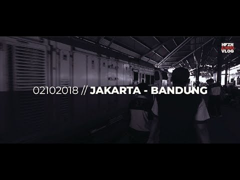 Travel Vlog // Jakarta - Bandung, Indonesia // 2018 Part 1