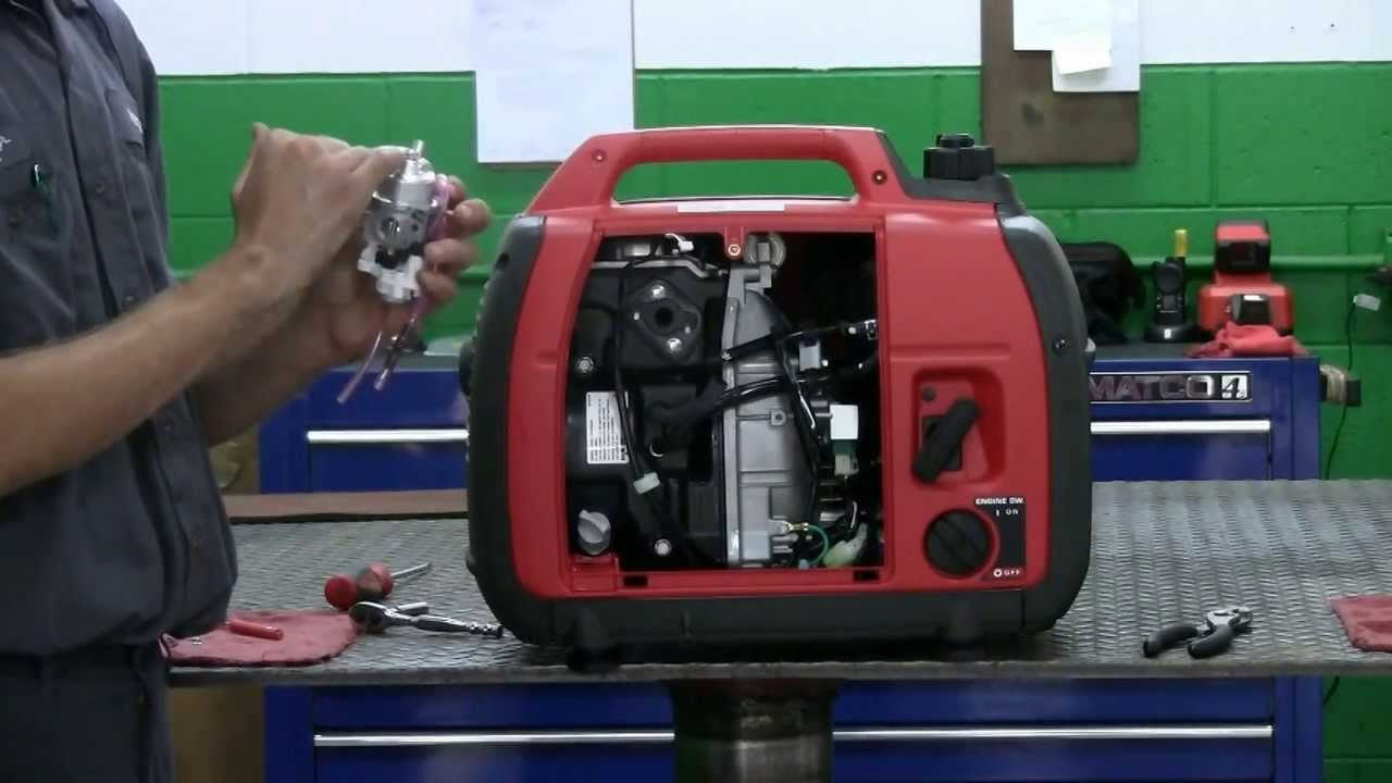 10 Hp Briggs And Stratton Carburetor Diagram Kenwood Kdc 138 Wiring 2 How To Clean The On A Honda Generator - Youtube
