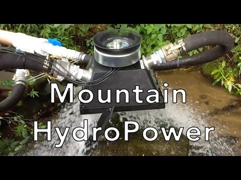 "Micro Water Turbine Generator Hydroelectric Power 1//2/"" 24V Micro Changeing Tool"