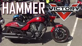 Victory Hammer S - Ride, review and walkaround - First Super Cruiser ride!