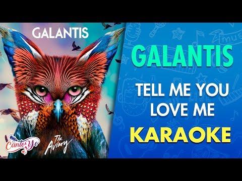 Galantis - Tell Me You Love Me (Karaoke) | CantoYo