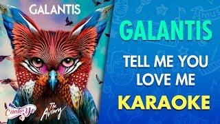 Galantis - Tell Me You Love Me (Karaoke)   CantoYo