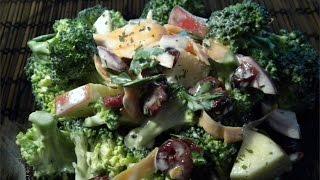 Broccoli Apple  Salad  -  Weight Control - Magic  Plan