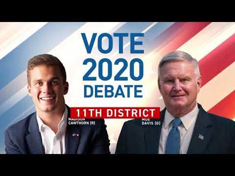 Los candidatos al Congreso NC-11 Debaten