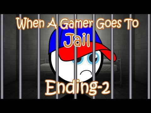 When A Gamer Goes To Jail (Ending-2) | ApeXCity