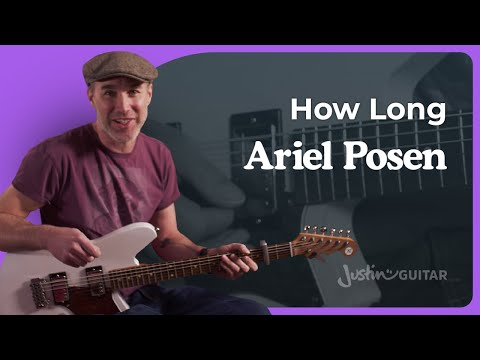 How To Play How Long By Ariel Posen | Baritone Open D Tuning Guitar Lesson
