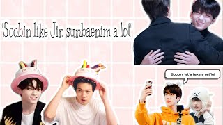 Download lagu BTS Jin × TXT Soobin: the most successful fanboy ever | 방탄소년단 진 × 투모로우바이투게더 수빈