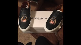 New!!! Givenchy Rottweiler Sneakers Unboxing|on Feet Demo!