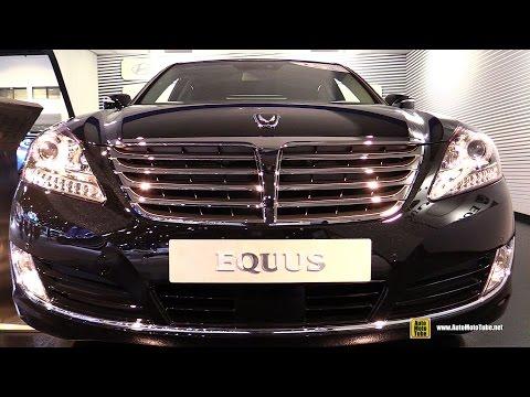2015 Hyundai Equus Exterior and Interior Walkaround 2015 Chicago Auto Show