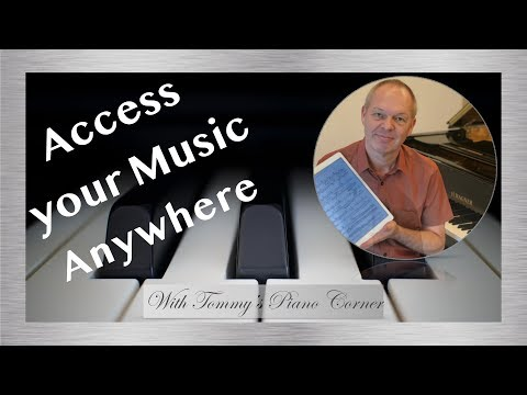 Piano Practice: ForScore - Music on your iPad?