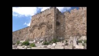 Profetie bij de gouden poort te Jeruzalem in Israel (september 2016)
