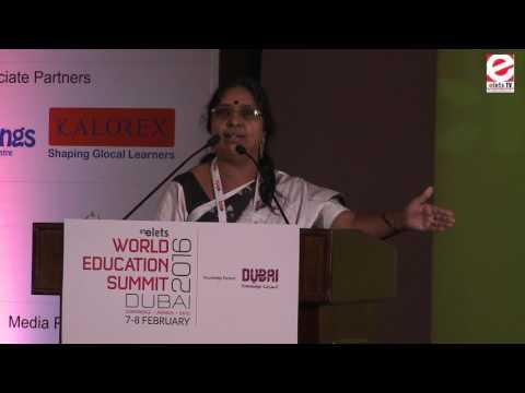 WES 2016 Dubai - K.Lakshmi Rao, Academic Director, Jain Group of institutions