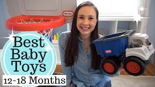 Best Baby Toys 12 - 18 Months Old! My Toddler Boy's Favorite Toys!