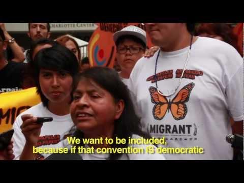Arrested And Released At The DNC: Levanta Tu Cara Y El Pueblo Se Levanta Contigo