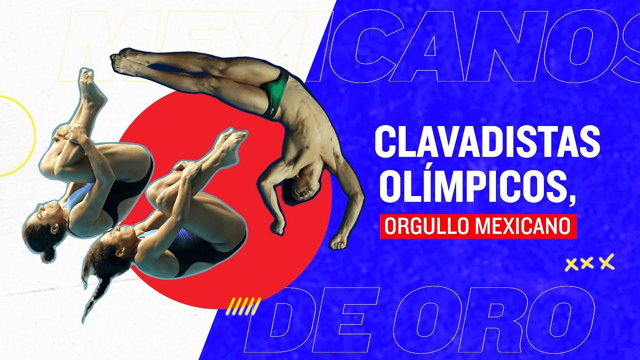 Alejandra Orozco, Kevin Berlín y Gaby Agúndez, clavadistas mexicanos en Juegos Olímpicos de Tokio