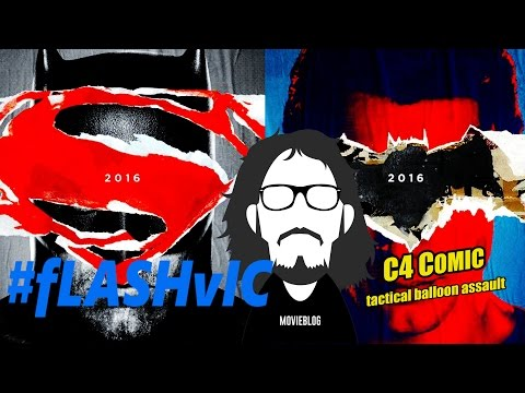 FlashVic feat. C4Comic- 38: Recensione Batman V Superman: Dawn of Justice