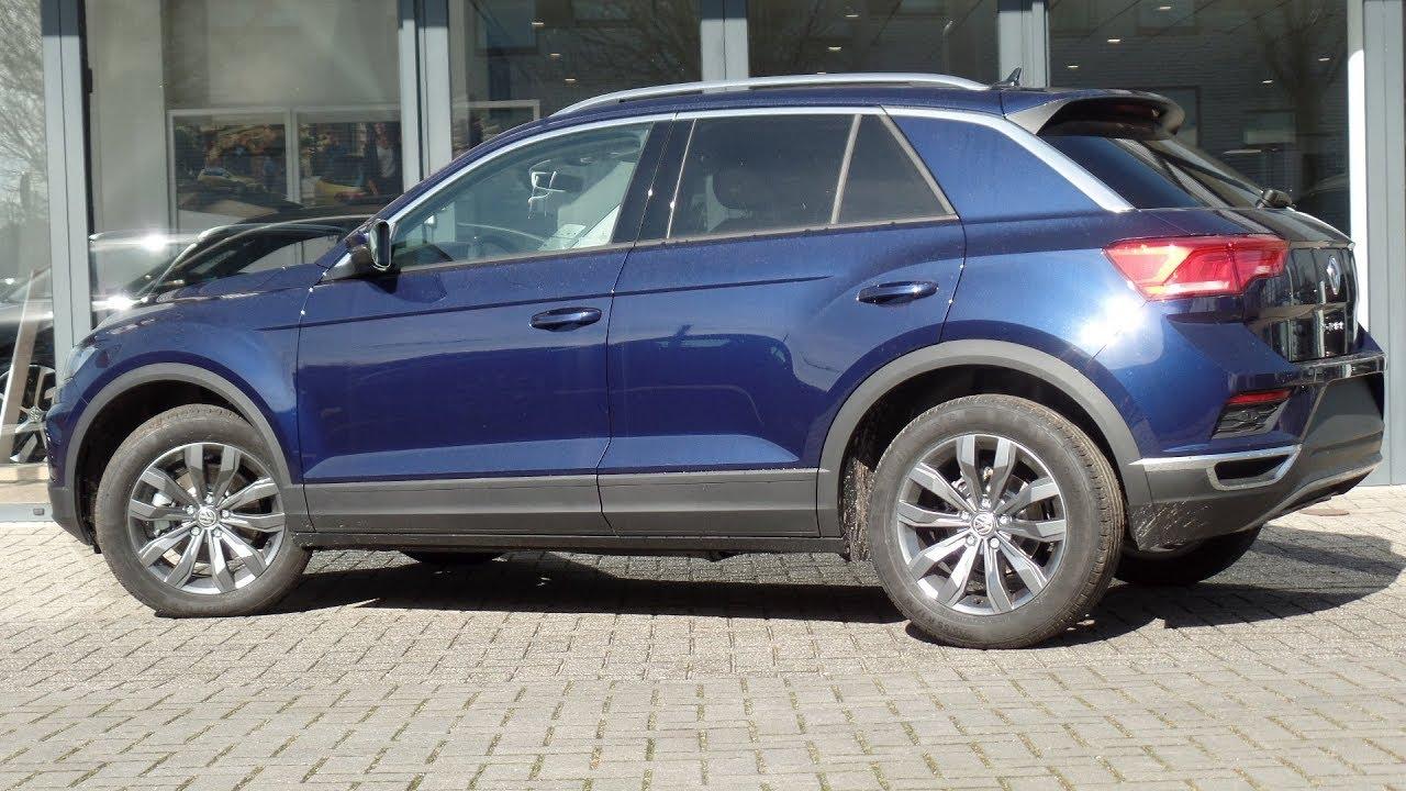Volkswagen New 2018 T Roc Style Atlantic Blue Metallic 17