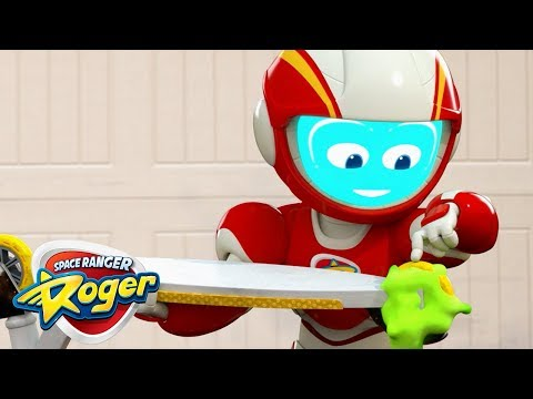 Cartoons for Children | Roger's Sticky Adventures | Hero Car