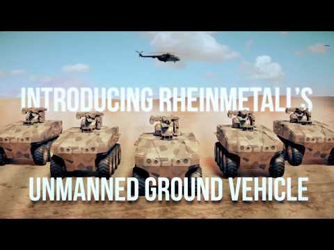 Rheinmetall Defence - Unmanned Ground Vehicle (UGV) [1080p]