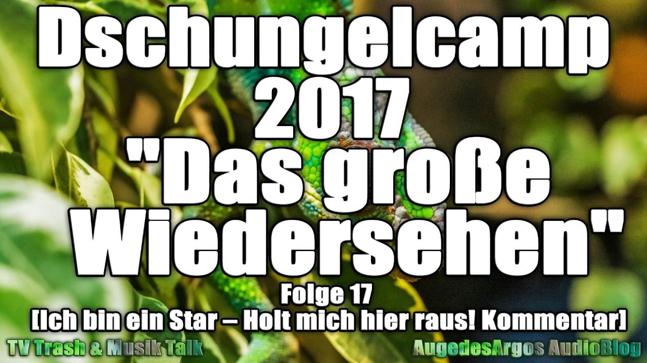 Dschungelcamp 2017 Das Große Wiedersehen Folge 17 Ich Bin Ein