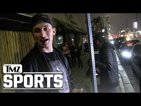 Johnny Manziel Says He'd Love to Be Tom Brady's Backup | TMZ Sports