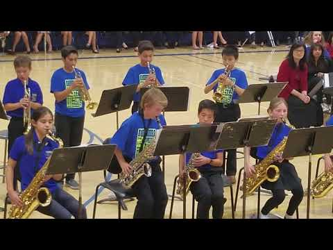 Crocker Jazz Band 2017 - Sleigh Ride
