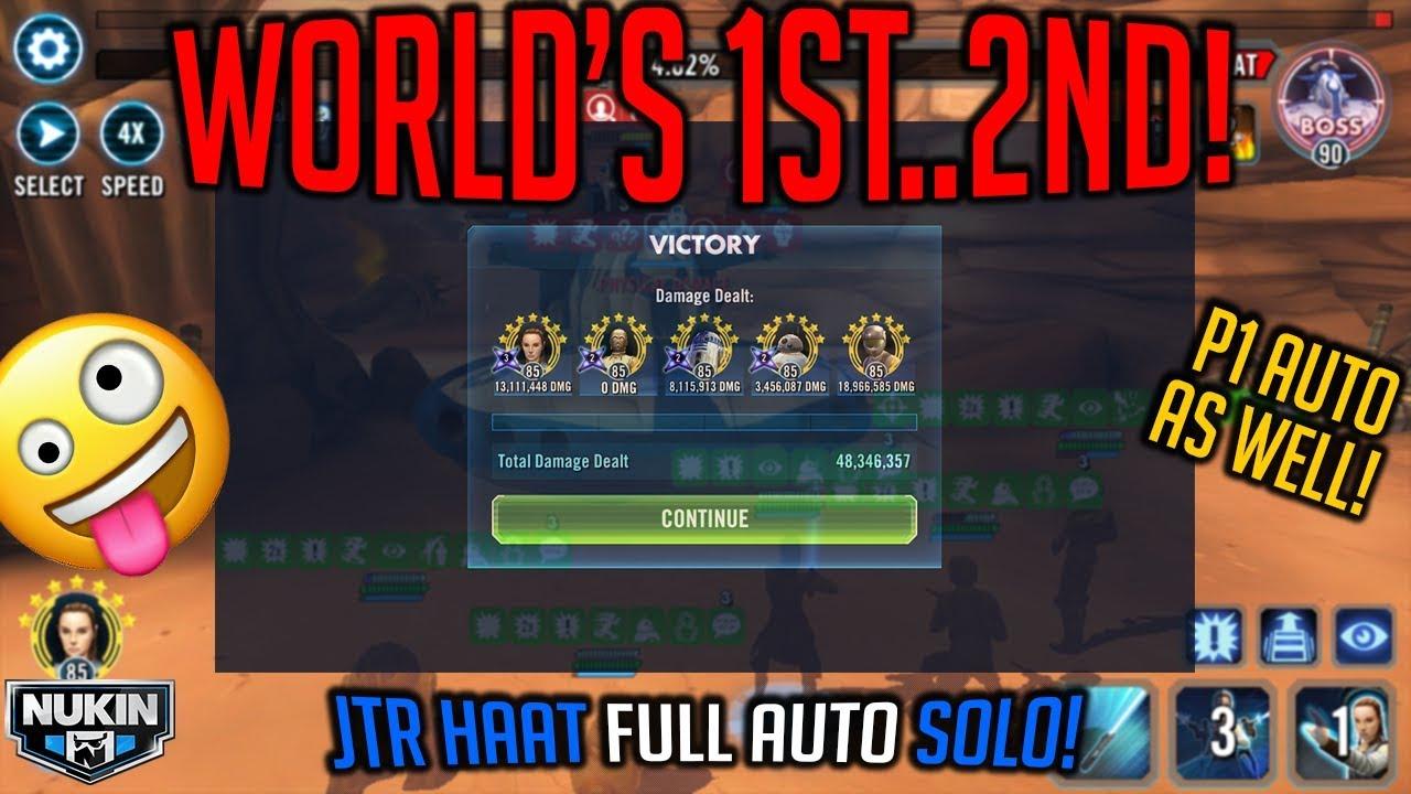 WORLD'S 1ST   3RD     69TH? HEROIC TANK RAID (hAAT) FULL