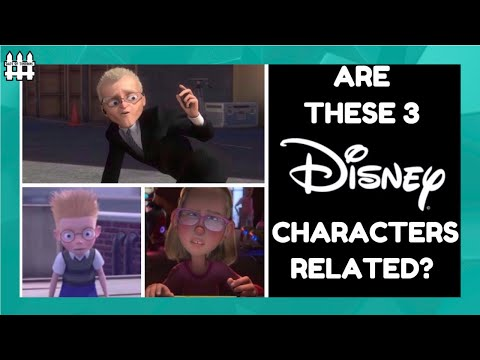 Are The Agent, The Moppet Girl & Lewis Related? Bolt, Wreck it Ralph, Meet The Robinsons Theory