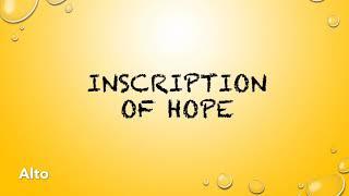 Inscription of Hope Alto